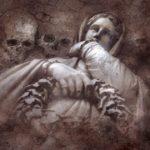 mysticism, grave, gloomy